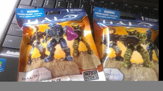 PAX Swag Giveaway:  Halo Fest Microfigure